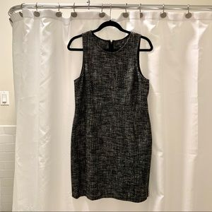 Theory Knit Fitted Sleeveless Dress